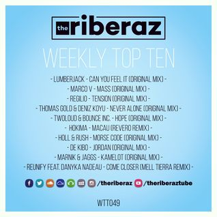 The Riberaz Weekly Top Ten 049