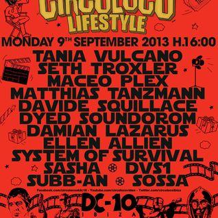 Sasha - Live at Circoloco Lifestyle, DC-10, Ibiza (09-09-2013)