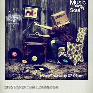 Music Saves My Soul SE03EP11 10.01.2013 :Top20 of 2012 The Count-Down @InnerSoundRadio