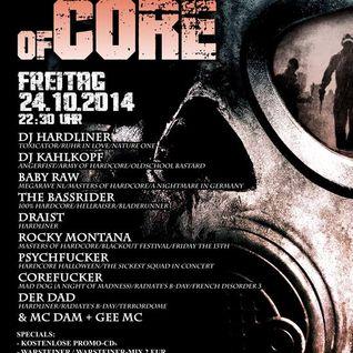 Rocky Montana -live @Johnnys Night of Core 24.10.2014