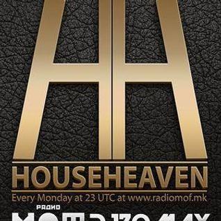 DJ ZOMAX - House Heaven episode 96 (www.radiomof.mk)