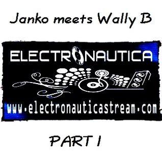 Janko @ Janko meets Wally B - Electronauticastream Hildesheim - 19.01.2013 - Part 1