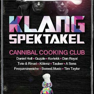 Klangspektakel - Cannibal Cooking Club - Sat 16 2013 - Cha Cha, Westerburg