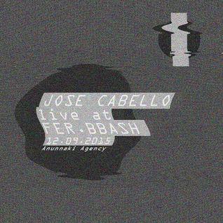 Jose Cabello (Live) @ FJBB 12092015