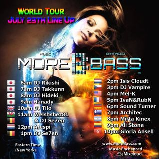 Morebass presents ;  World Tour July 23rd , with Arespi - Century of the mouse