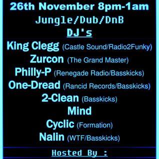 Renegade Radio 107.2 FM -DJ Whitelock AKA One-Dread FT MC.P- Sound Cloud Crew Call Out Mix