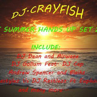 Dj.Crayfish - Hot Summer Hands up set 2k16