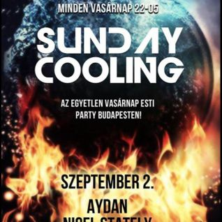 Nigel Stately, Tigran, Aydan, NewDeal - Sunday Cooling live (2012 09 02)