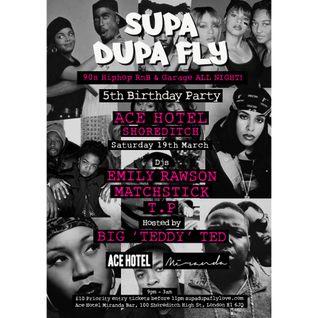 Supa Dupa Fly 5th Birthday: 90s Hip Hop Mix