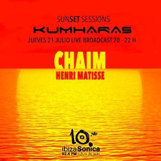 Henri Matisse and Chaim - Live at Sunset Session, Kumharas, Ibiza (21-07-2016)