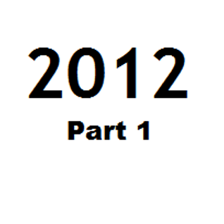 Great Tunes of 2012 - Part 1