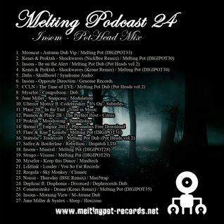 Melting Podcast 24 - Insom - The Pot Head Mix