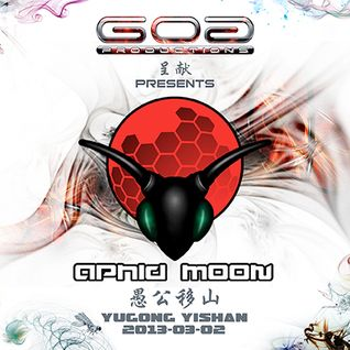 GoaProductions Live 001: Aphid Moon Direct From Beijing March 2013 Pt.1