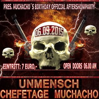 Chefetage Liveact @ Rock´n Roll Bar Karlsruhe - Dstrct X Afterhour - Muchachos Birthday 06.09.2015