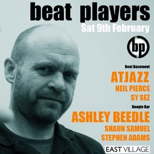 AtJazz (live) Guest Mix - Beat Players for East Village 5.2.13