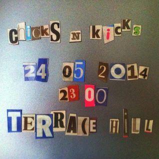 CHICKS'n'KICKS - VOL. 1   24-05-2014   TERRACE HILL   HAMBURG   by DJ GORDON HOLLENGA