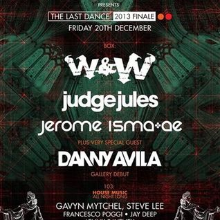 Jerome Isma-Ae - Live @ The Gallery, Ministry of Sound (London) - 20.12.2013