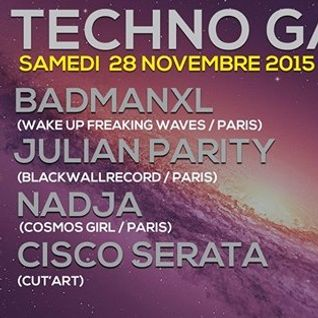 Badmanxl (Badis Said) - Techno Galaxy#1 @ Aux Bons Amis (Paris) - 28.11.15