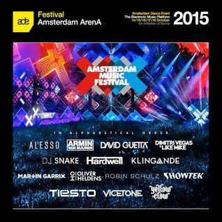 Showtek - Live @ Amsterdam Music Festival 2015 (ADE, Amsterdam) - 17.10.2015