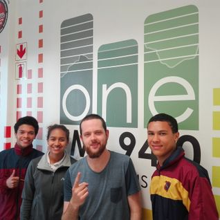 One FM 94.0 - Joshua Paine chats to Amy, Chad and Orin about their respective football journeys