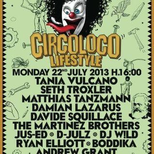 DJ Wild @ Circoloco - DC-10 Ibiza (22-07-2013)