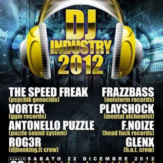 F. Noize @ Dj industry - 22 - 12 - 2012