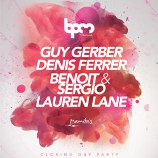 Guy Gerber - Live @ BPM 2014 This is The End, Mamita's Beach Club - 12.01.2014