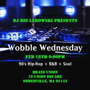 Wobble Wednesday - Feb. 18, 2015