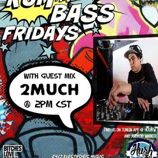 !Live Rum & Bass Friday's @BrandonDNB with DJ 2MUCH on @HushFMRadio - www.hushfm.com (6-12-2015)