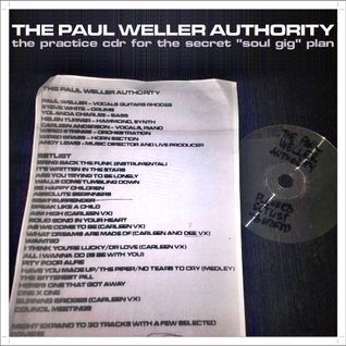 …Live, for 1 night only… The Paul Weller Authority