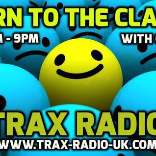 DJ Moz-B Trax Radio Return To The Classics 17/07/15