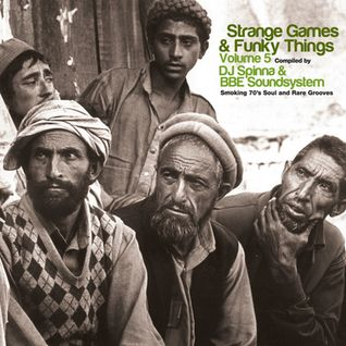 Strange Games & Funky Things Vol. 5 CD Mix - DJ Spinna