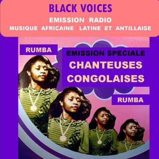Emission spéciale chanteuses congolaises BLACK VOICES Radio décibel LOT Décembre 2015