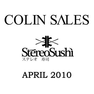 Colin Sales, Official Stereo Sushi Mix - April 2010