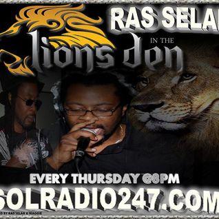RAS SELAH LIVE MAY 15TH ON SOLRADIO247.COM CLUB VIBEZ