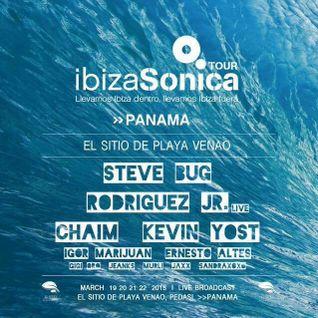 JAXX - IBIZA SONICA ON TOUR @ EL SITIO PANAMÁ w/ IGOR MARIJUAN - 20 MARZ 2015