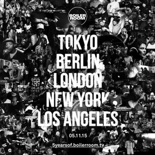 Kobosil - live at 5 Years of Boiler Room (Berlin) - 05-Nov-2015