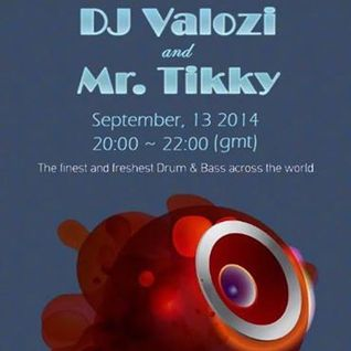 (Mr Tikky guest mix) DJ Valozi and Mr Tikky - Innersence Radio - 13/09/2014