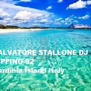 Salvatore Stallone dj on tape ripping 92 Sardinia island Italy