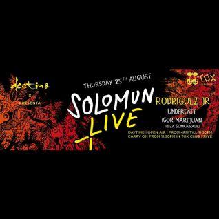 Igor Marijuan and Undercatt - Live at Solomun + live, Destino, Ibiza (25-08-2016)