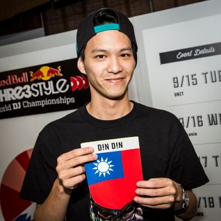 DJ Din Din - Taiwan - World Finals 2015: Night 4