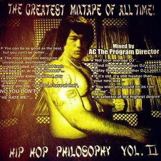 THE GREATEST MIXTAPE OF ALL-TIME: HIPHOP PHILOSOPHY VOLUME 2 (2000)