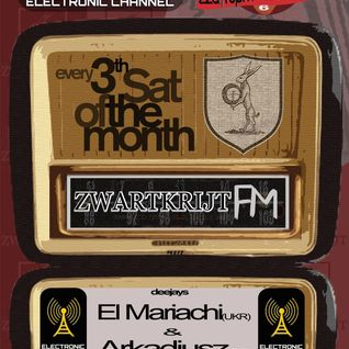 Strom:kraft radio presents ZwartkrijtFM Podcast 11 | EL MARIACHI ( UKR) & ARKADIUSZ (GER) 2014-16-08