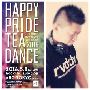 #008 Dj hirohiro - Happy Pride Tea Dance 2016-05-08  LIVE REC