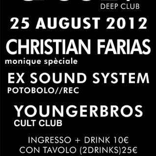 Farias djset CULT CLUB