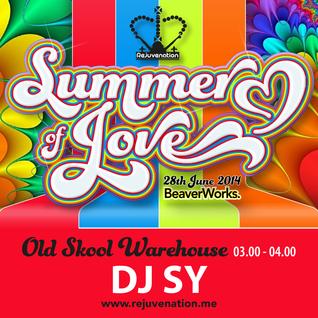 DJ Sy & MC Domino | Old Skool | Rejuvenation | Summer of Love | Set 7 | 03.00 - 04.00 |  28.06.14