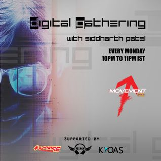 Digital Gathering Radio Show 005 ft. Ad Brown's Guest Mix // #DGRS005