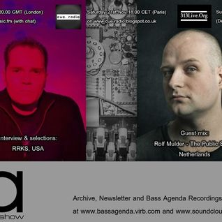 Bass Agenda 116: RRKS Interview & Rolf Mulder guest mix