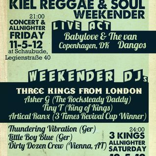 Kiel Reggae & Soul Weekender 2012 - Promo Mix - Dirty Dozen