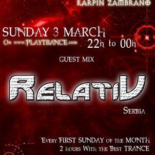 SuburbanParade RadioShow 006 with Relativ (Tesserac Tstudio/Serbia)